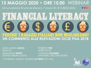 Webinar Financial Literacy IBL AEEE